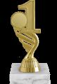 Фигура 1,2,3 место Эмблема на мраморном цоколе