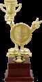 Фигура Веселый кубок Смайл на пластиком цоколе