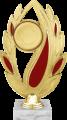 Фигура Лия Эмблема на мраморном цоколе