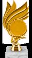 Фигура Гребень Эмблема на мраморном цоколе