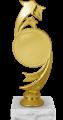 Фигура Звезда Эмблема на мраморном цоколе