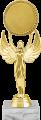 Фигура Ника Эмблема на мраморном цоколе