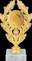 Фигура Лавр Эмблема на мраморном цоколе