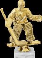 Фигура Хоккей Вратарь на мраморном цоколе