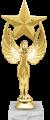 Фигура Ника Звезда на мраморном цоколе