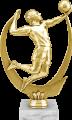 Фигура Волейбол на мраморном цоколе