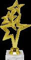 Фигура Звезда Три звезды на мраморном цоколе