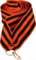 Лента для медалей 22 мм Цвет георгиевская лента