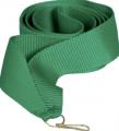 Лента для медалей 22 мм Цвет зеленый